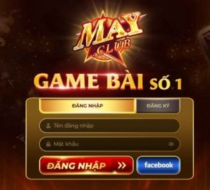 Cổng game bài May Club