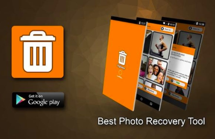 Ứng dụng Digdeep image Recovery