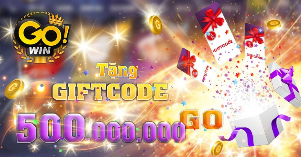 Giftcode Gowin tháng 4